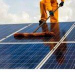 lavaggio impianto fotovoltaico
